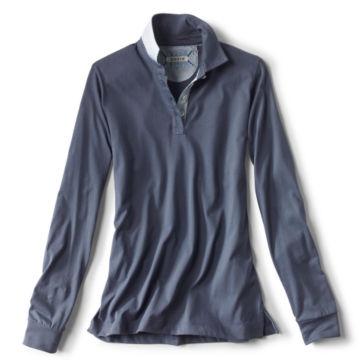 Pima Jersey Mayfly Polo - REGATTA BLUE image number 0