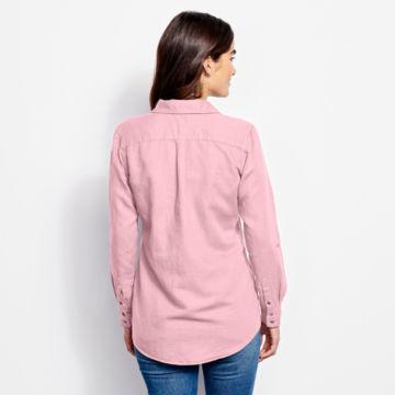 Linen/Cotton Garment-Dyed Camp Shirt -  image number 2