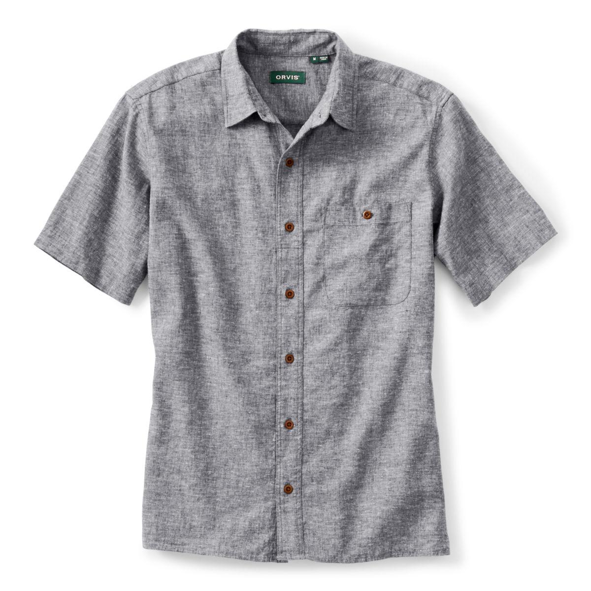 Hemp/Tencel® Stretch Short-Sleeved Shirt - image number 0