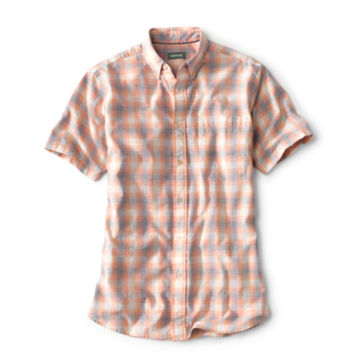 Slub Ombré Short-Sleeved Shirt -  image number 0