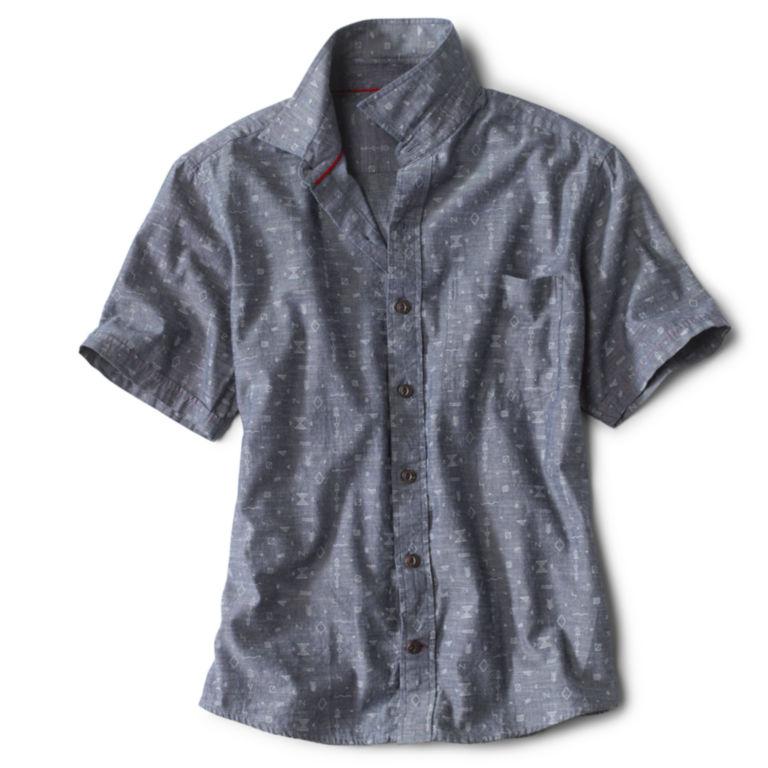 Western Symbols Short-Sleeved Shirt -  image number 0