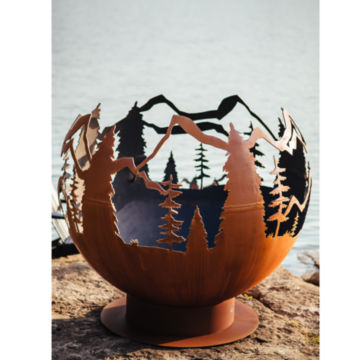 Mountain Forest Fireball -  image number 1