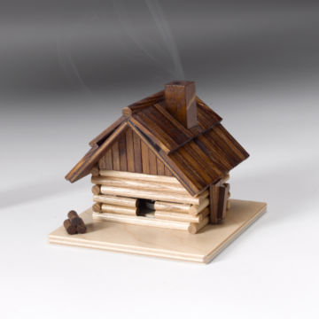 Mountain Cabin Incense Smoker -  image number 1
