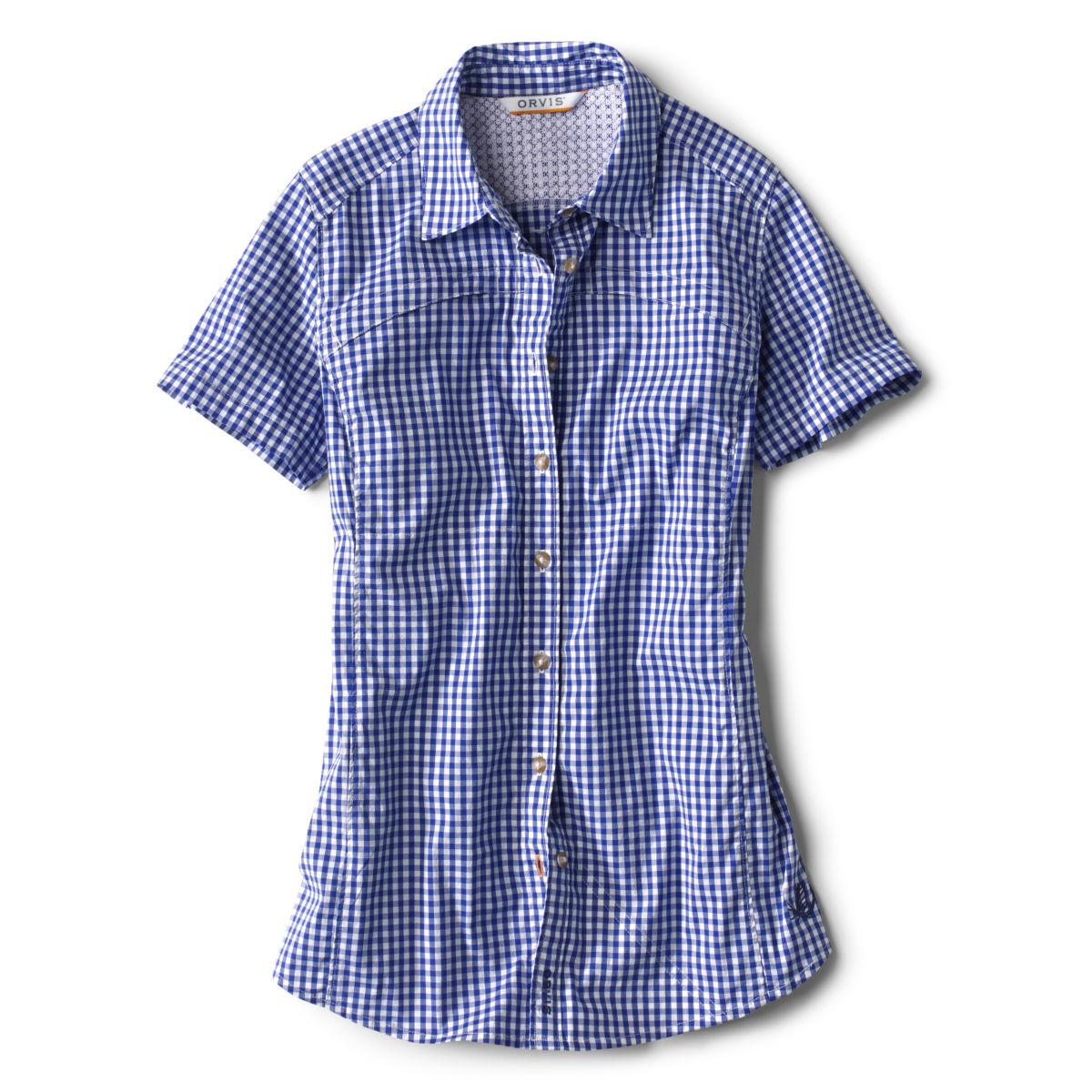 Short-Sleeved River Guide Shirt - OCEAN BLUEimage number 0