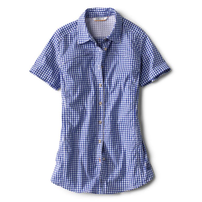 Short-Sleeved River Guide Shirt - OCEAN BLUE image number 0