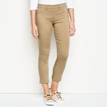 All-Day Stretch Twill Crop -