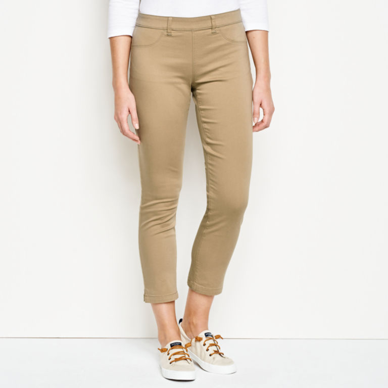 All-Day Stretch Twill Crop -  image number 0