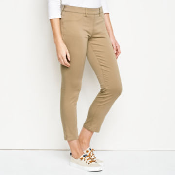 All-Day Stretch Twill Crop -  image number 1