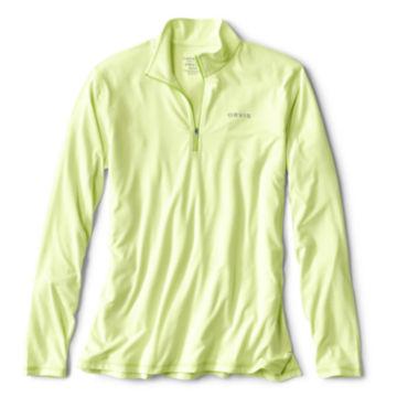 OutSmart®  Zipneck - HONEYDEW image number 0
