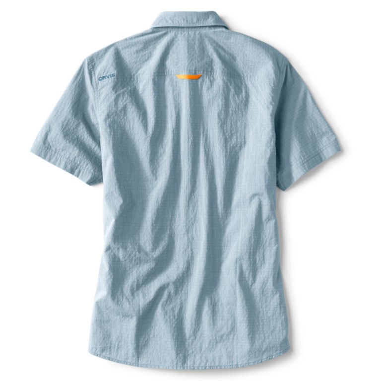 Double Spade Short-Sleeved Camp Shirt - BLUE image number 1