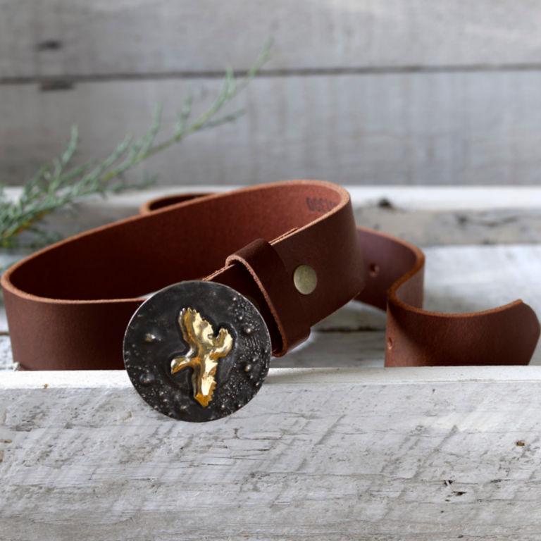 Handmade Artisan Sporting Belt - QUAIL image number 1