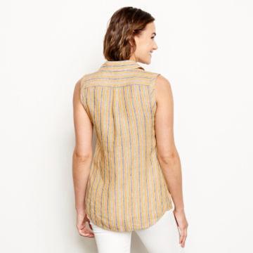 Lightweight Linen Sleeveless Shirt -  image number 2