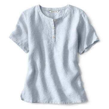 Lightweight Linen Short-Sleeved Sweetwater®  Popover -