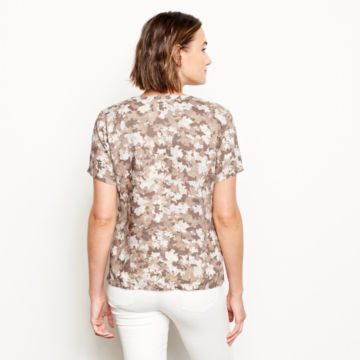 Printed Lightweight Linen Short-Sleeved Sweetwater®  Popover -  image number 2