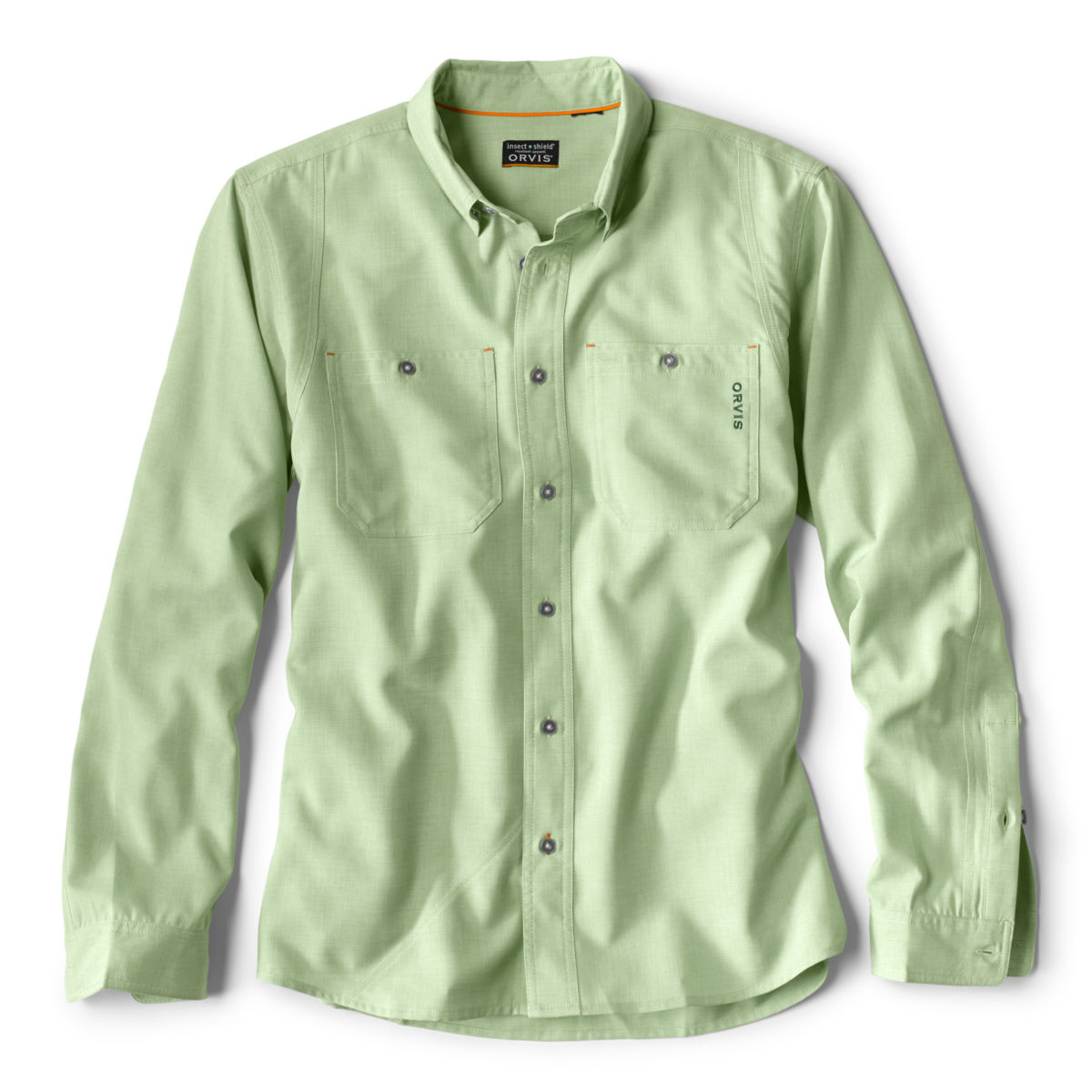 OutSmart®  Long-Sleeved Tech Chambray - image number 0