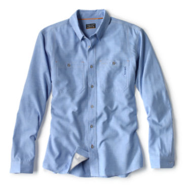 OutSmart®  Long-Sleeved Tech Chambray -