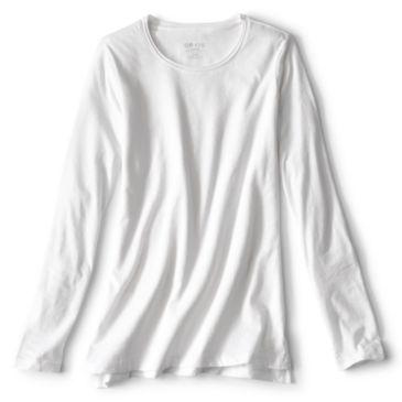 1856 Organic Cotton Long-Sleeved Crewneck Tee -