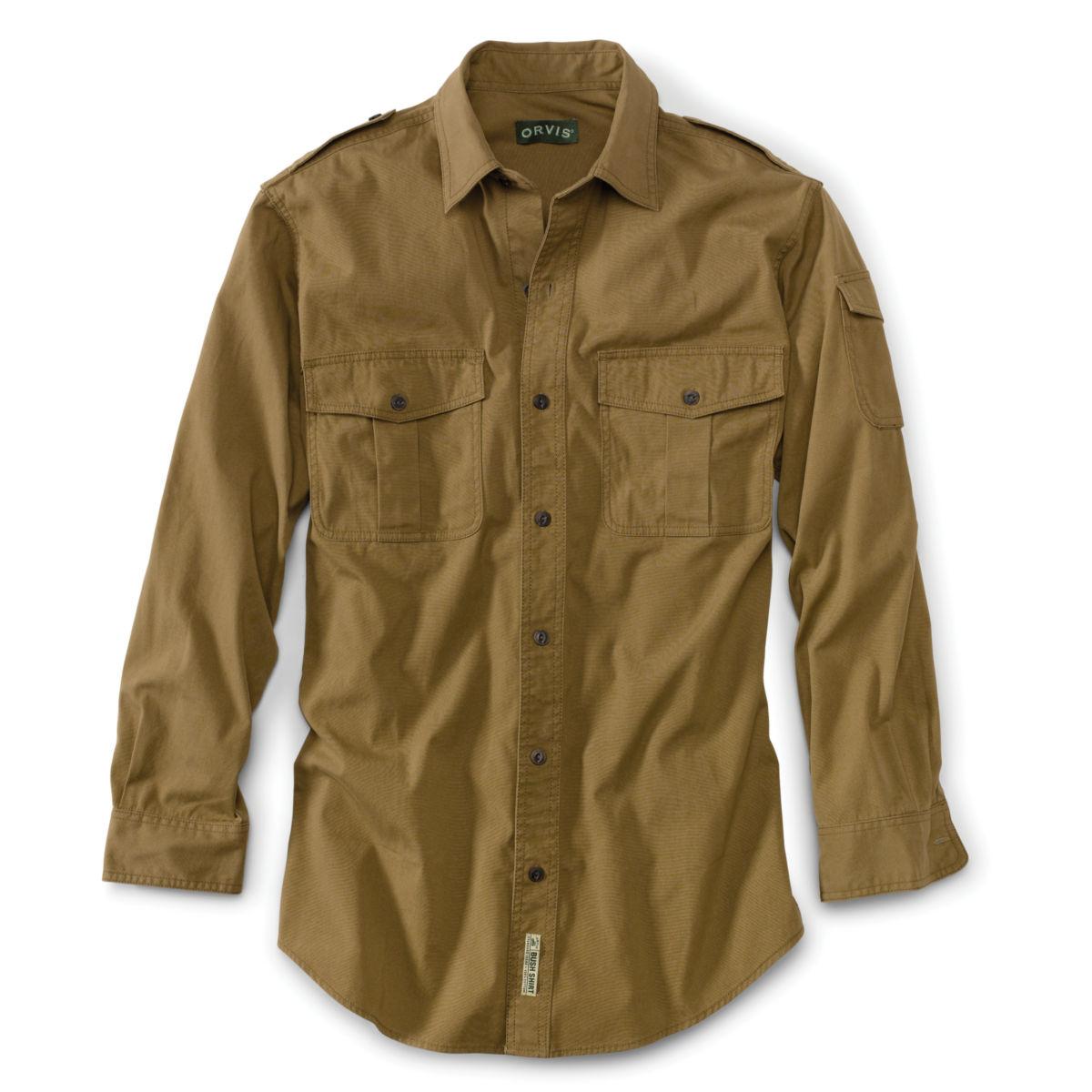Bush Shirt - Regular - BRITISH TANimage number 0