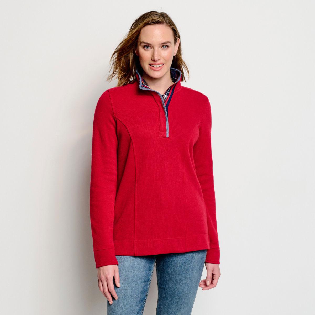 Signature Softest Print-Trimmed Sweatshirt - image number 0