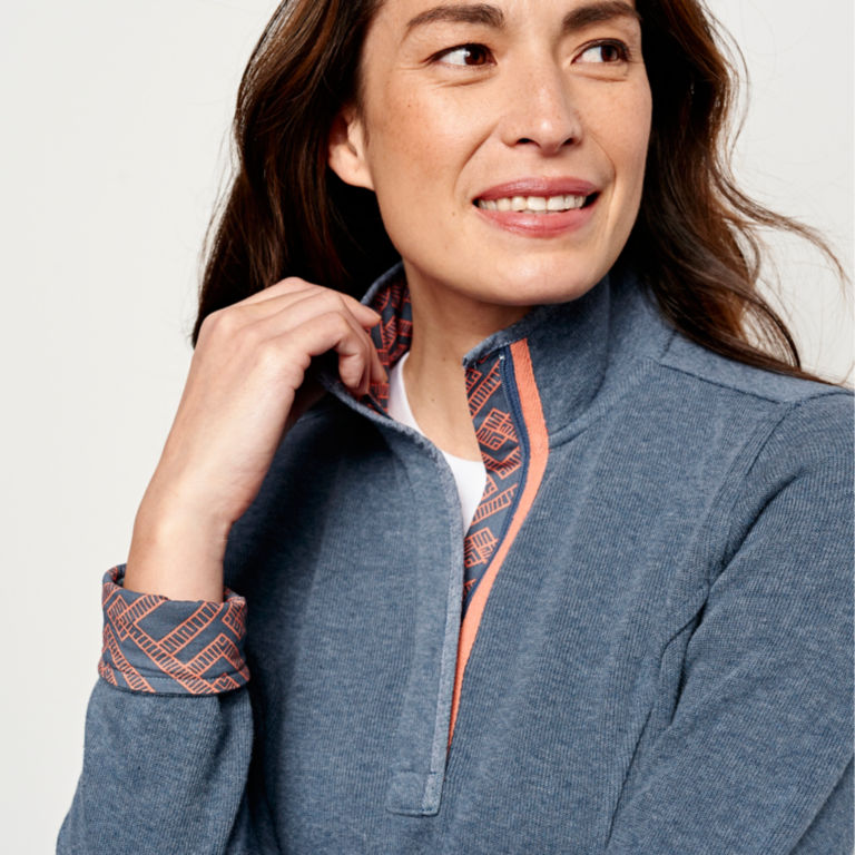 Signature Softest Print-Trimmed Sweatshirt -  image number 3