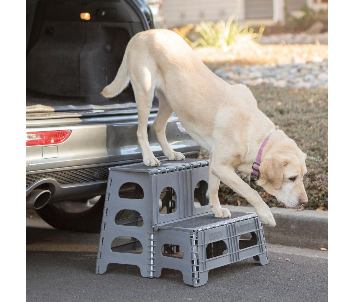 Pet Step Folding 2-Step Assist - image number 0