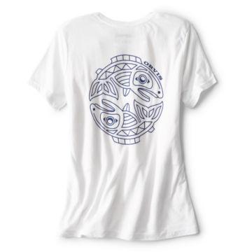 Women's Cascadia Tee - WHITE image number 1