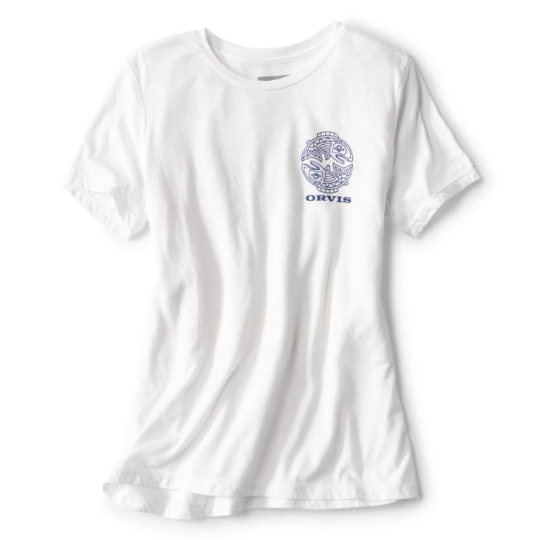 Women's Cascadia Tee - WHITE image number 0