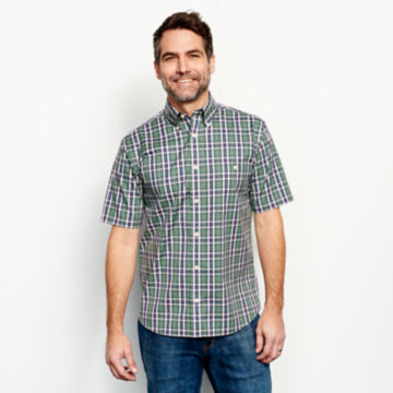 Wrinkle-Free Short-Sleeved Shirt - Regular -  image number 1