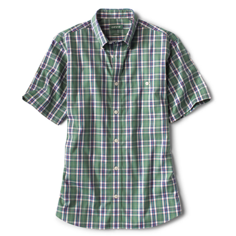 Wrinkle-Free Short-Sleeved Shirt - Regular -  image number 0