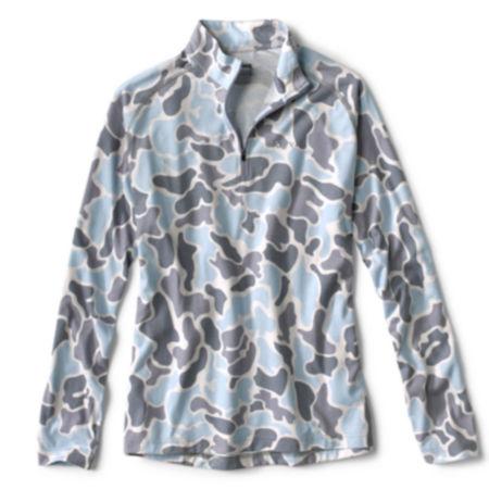 drirelease® Camo Quarter-Zip Casting Shirt
