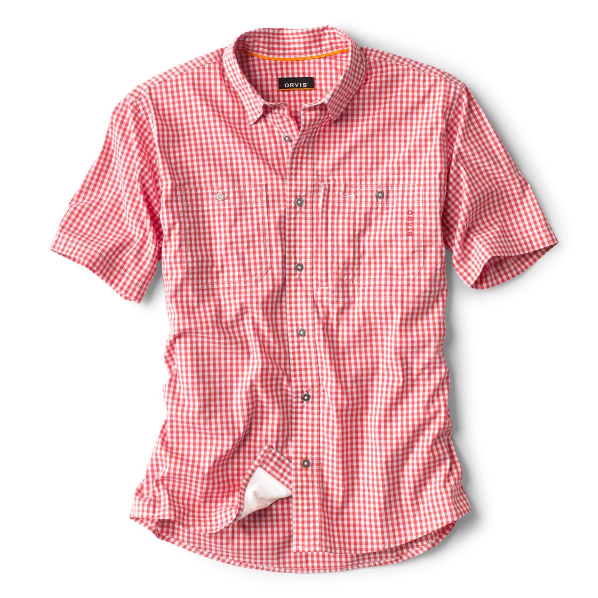 River Guide Short-Sleeved Shirt - PAPRIKAimage number 0