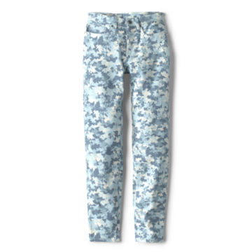 Printed Four-Way Stretch Ankle Pants -  image number 3