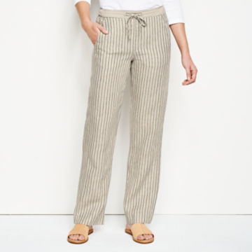 Orvis Performance Linen Striped Pants -  image number 0