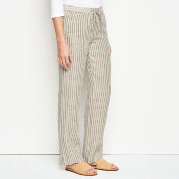 Orvis Performance Linen Striped Pants -  image number 1