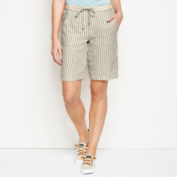Orvis Performance Linen Striped Shorts -