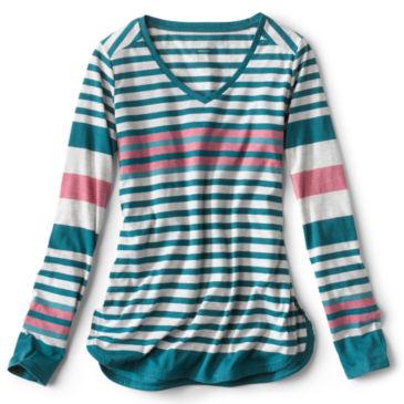 New Horizon Long-Sleeved Striped Tee -