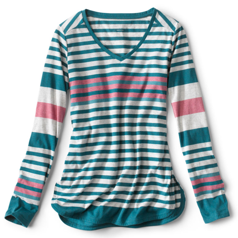 New Horizon Long-Sleeved Striped Tee -  image number 0