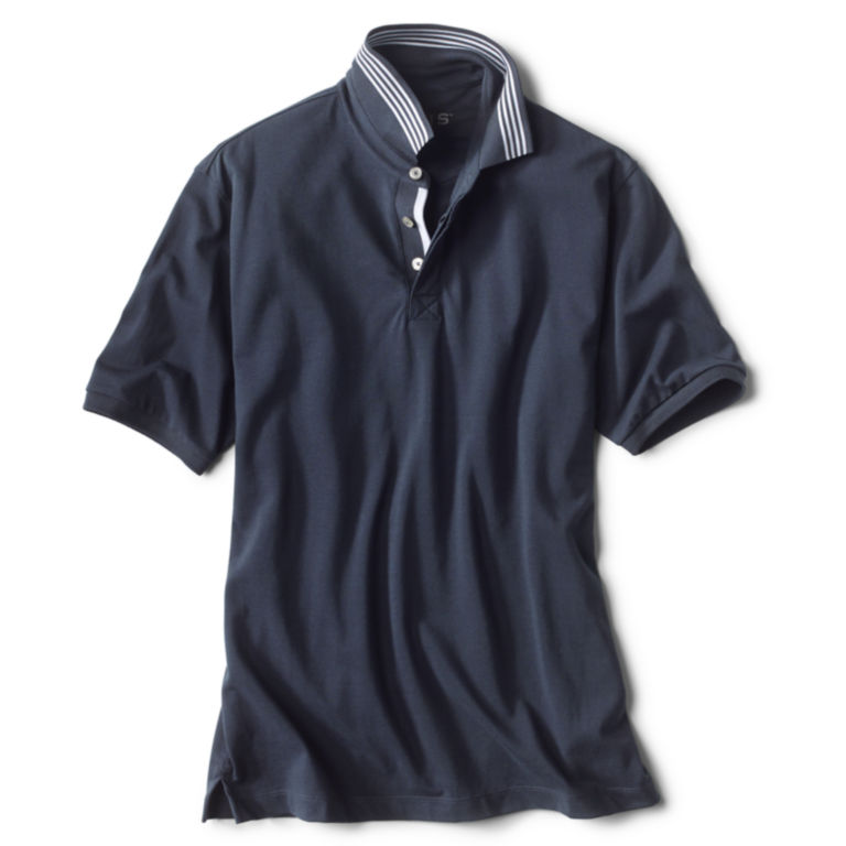 Covered Placket Polo -  image number 0