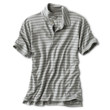 Disperse Dye Oxford Polo - GRAY image number 0