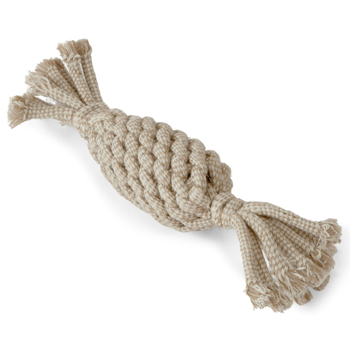 Natural Rope Pineapple Dog Toy - image number 0