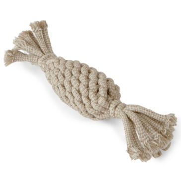 Natural Rope Pineapple Dog Toy -