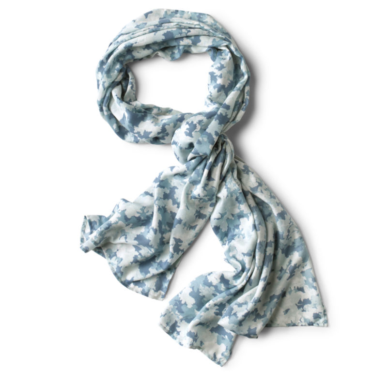Watercolor Floral Camo Scarf -  image number 0