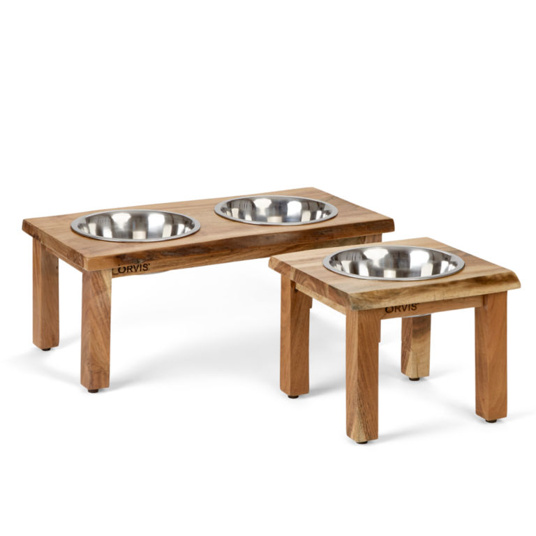 Natural Edge Dog Feeder -  image number 1