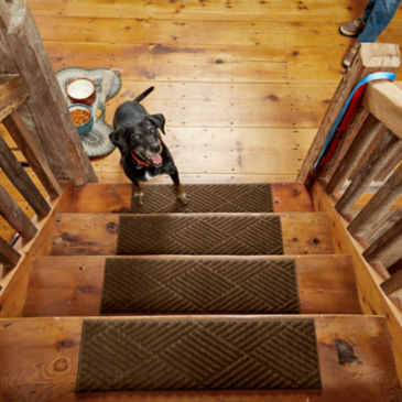 Recycled Water Trapper®  Diamond Stair Treads—Set of Four -