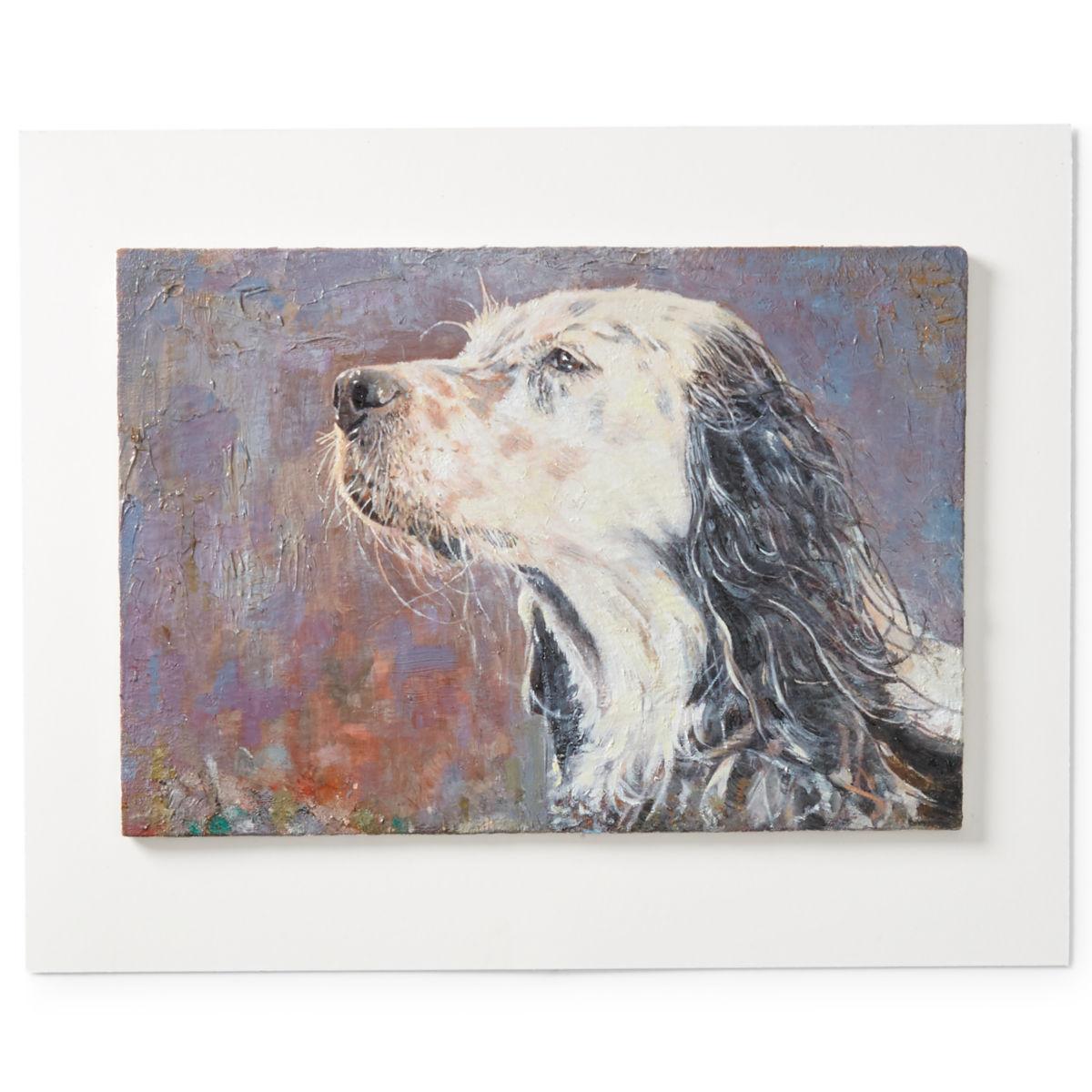 Custom Dog Oil Painting—Not Framed - image number 0