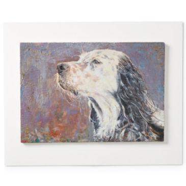 Custom Dog Oil Painting -
