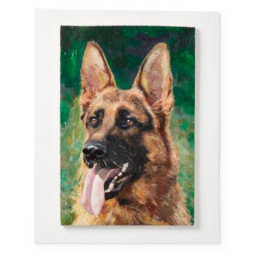 Custom Dog Oil Painting—Not Framed -  image number 1