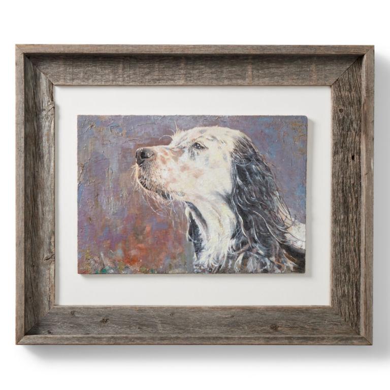 Custom Dog Oil Painting - Framed -  image number 0
