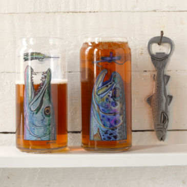 DeYoung Fish Beer Can Pilsner Glass -