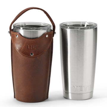 Leather Tumbler Sleeves -  image number 0